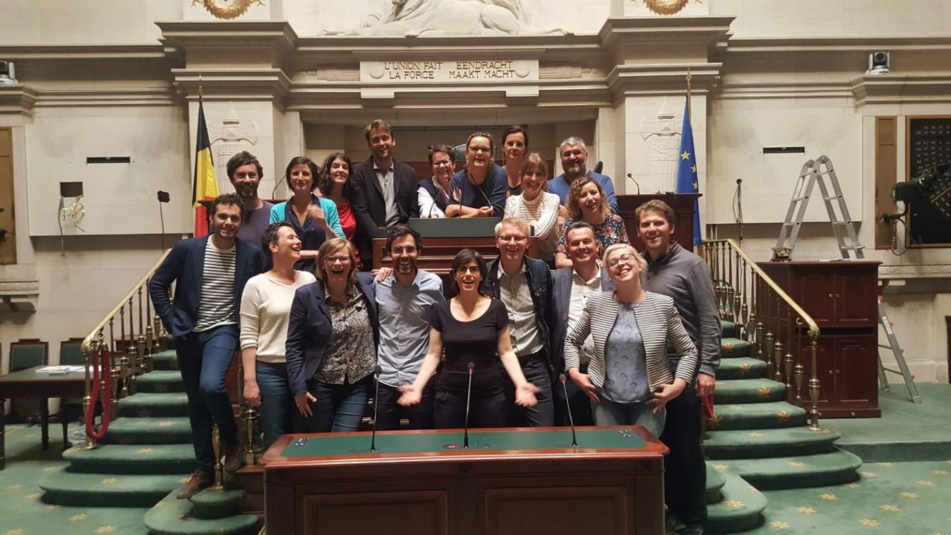 Député à la Chambre des Représentants, élu de la circonscription de Namur