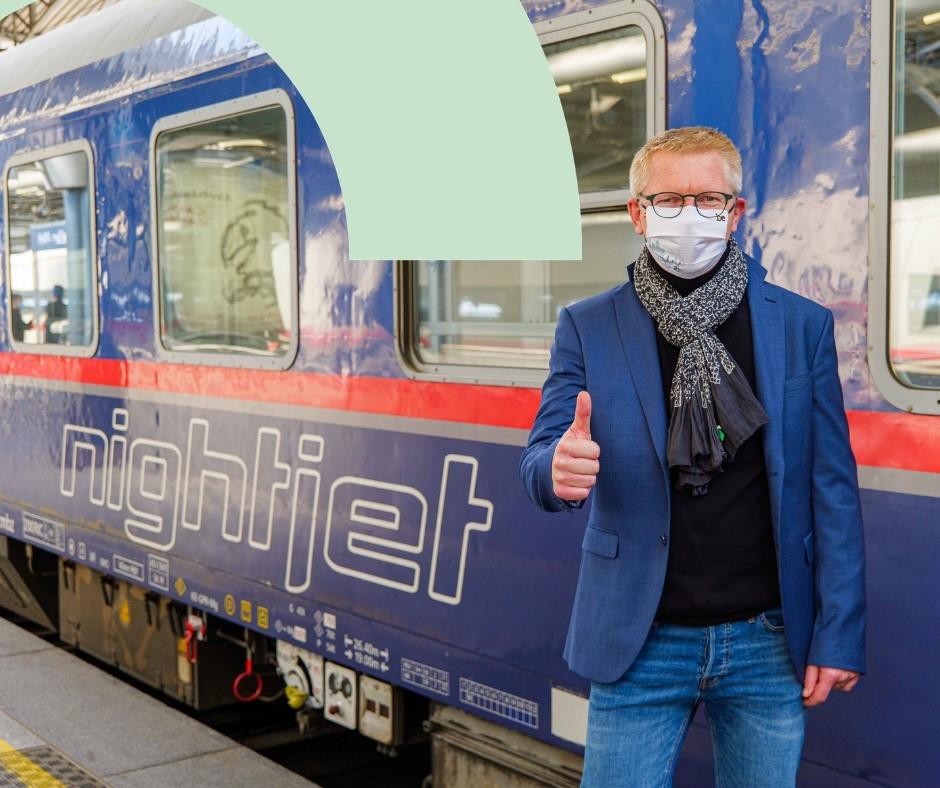 Le Nightjet Bruxelles - Vienne de retour sur les rails avec une offre élargie