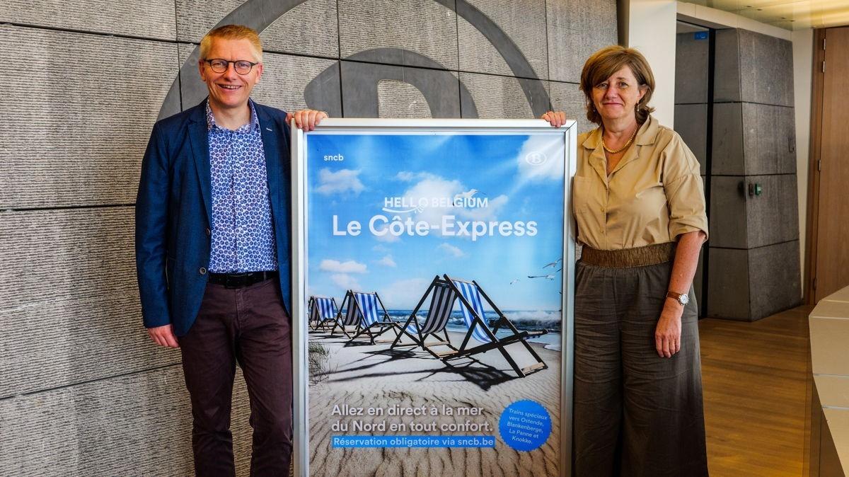 Le Côte-Express : +de trains, +confortables et +rapides pour la mer