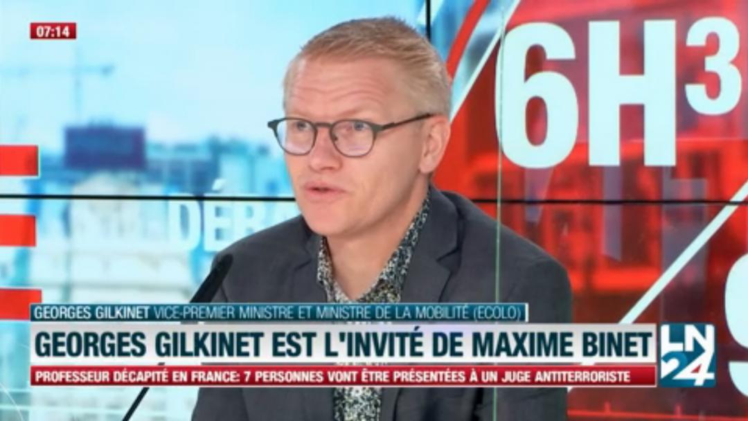 « On n'est pas dans une situation de risque extrême dans les transports » – Georges Gilkinet