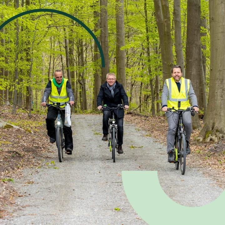 Du rongeur au cycliste, à chacun sa traversée sécurisée des voies en Forêt de Soignes