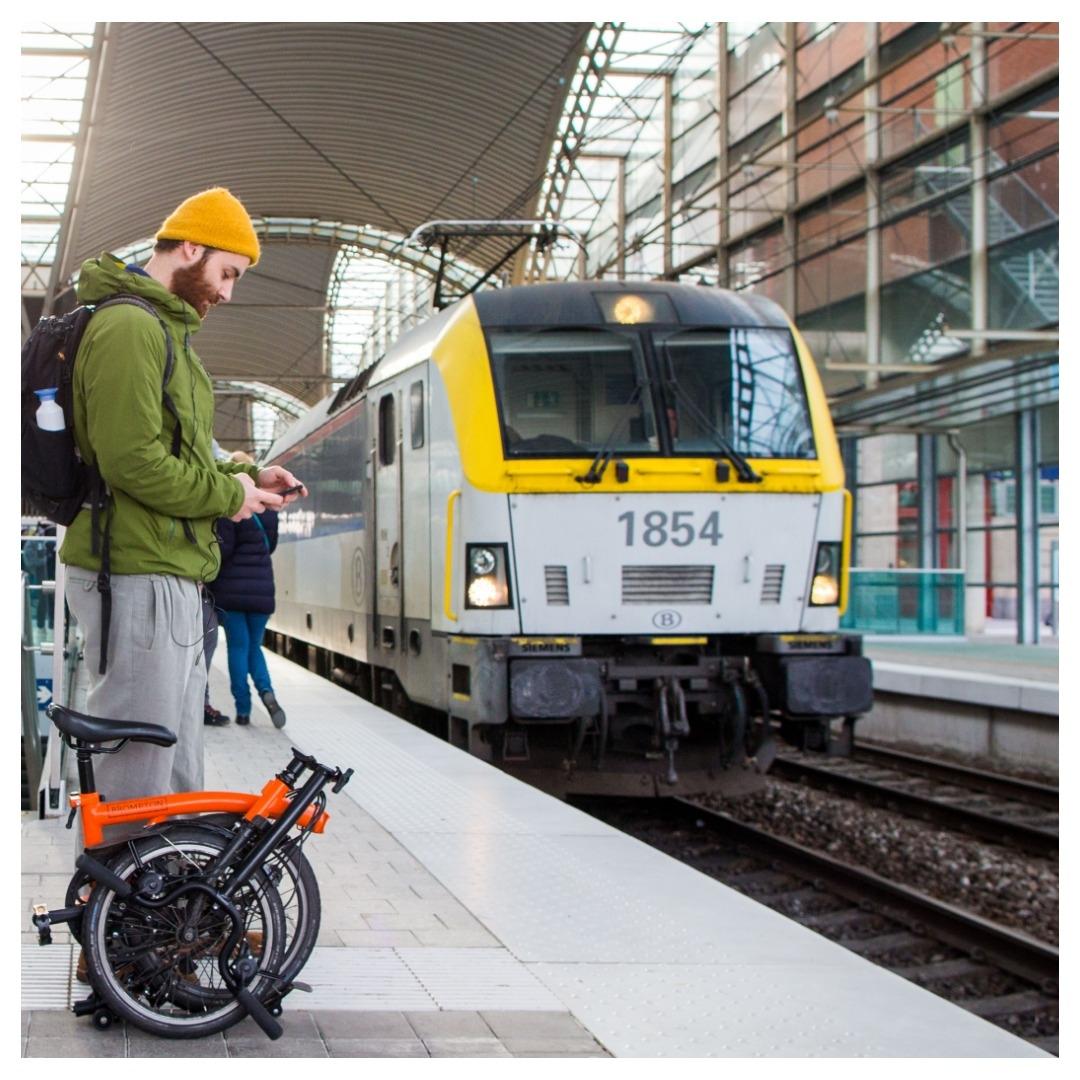Minister van Mobiliteit Georges Gilkinet wil de combinatie trein-fiets boosten