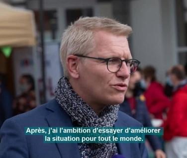 """Georges Gilkinet : """"J'ai l'ambition d'essayer d'améliorer la situation pour tout le monde"""""""
