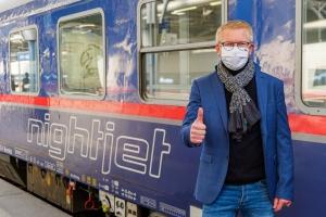 Nouvelle avancée pour la mobilité ferroviaire : à partir de 2022, le Gouvernement fédéral soutiendra le train de nuit