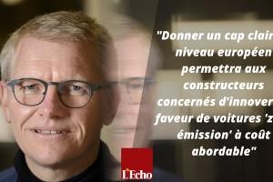 La Belgique soutient un appel européen pour une transition énergétique vers des véhicules à zéro émission