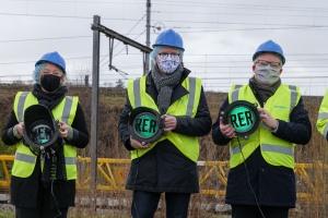 Die ersten grünen Bahnschwellen aus 100 % Schwefelbeton, die in Puurs verlegt wurden: eine ökologische Revolution für die belgische und europäische Eisenbahn
