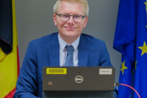 Interventie van Georges Gilkinet voor zijn Europese collega's ter gelegenheid van de Europese Week van het Spoor