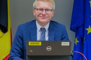 Rede von Georges Gilkinet vor seinen europäischen Amtskollegen anlässlich der Europäischen Woche der Schiene
