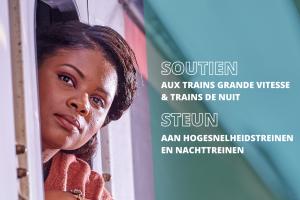 COVID - Die Föderalregierung unterstützt internationale Personenzüge.