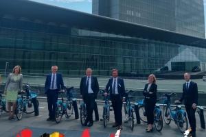 """Europa & Mobilität - Georges Gilkinet: """"Die Europäische Union muss einen anderen Gang einlegen, um beim Klimaschutz die Führung zu übernehmen"""""""