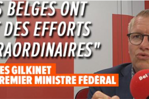 "Georges Gilkinet : ""On va retrouver un peu plus de libertés."""