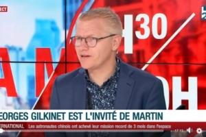 """Georges Gilkinet : """" Je voudrais permettre aux citoyens de se libérer plus facilement de leur voiture en leur offrant des alternatives."""""""