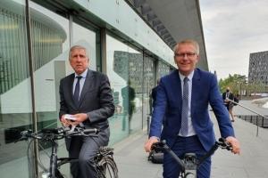 Europa & Mobiliteit – Georges Gilkinet : « De Europese Unie moet een versnelling hoger schakelen om op kop te komen in het klimaatpeleton »