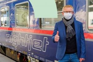 Nightjet Brüssel - Wien wieder auf Kurs mit erweitertem Angebot