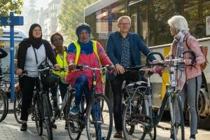 Semaine de la Mobilité - Elles en selle : rencontre avec Women in cycling et Molembike pour faire éclater les plafonds de verre.