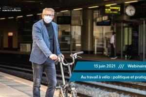 """Webinar """"Mit dem Rad zur Arbeit: Politik und Praxis"""""""