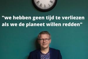 """Georges Gilkinet: """"Geen tijd te verliezen als we de planeet willen redden"""" (DE ZONDAG)"""