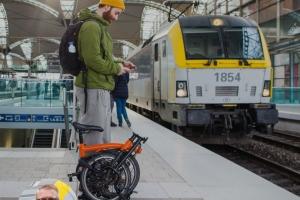 Le ministre de la Mobilité Georges Gilkinet veut booster l'utilisation combinée du vélo et du train