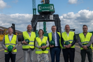 """Voka-stage minister Gilkinet bij familiebedrijf Zuidnatie in Antwerpse Haven: """"Modal shift is cruciaal voor onze economie  en voor innovatieve, duurzame bedrijven zoals Zuidnatie!"""""""