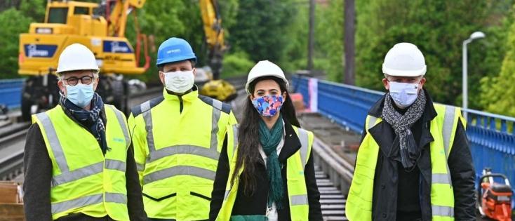 Rénovation du périphérique Ouest de Bruxelles : un atout majeur pour le transport des voyageurs et des marchandises