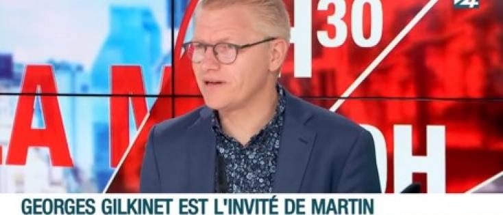 Georges Gilkinet, Vice-Premier Ministre et Ministre de la Mobilité, est l'invité de Martin Buxant.