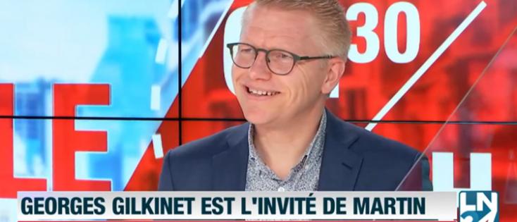 Georges Gilkinet, Vice-premier ministre et ministre de la Mobilité, est l'invité de Martin Buxant (LN24)