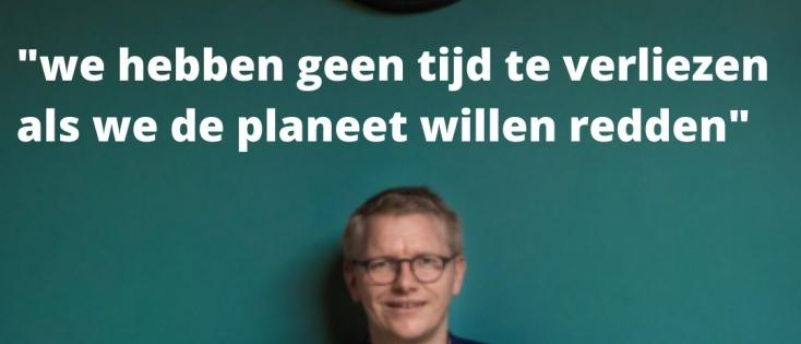 """Georges Gilkinet: """"Geen tijd te verliezen als we de planeet willen redden"""""""