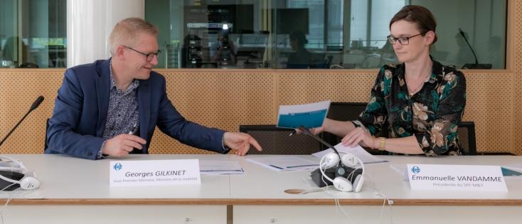 FOD Mobiliteit en Vervoer: Bestuursovereenkomst 2021 - 2023
